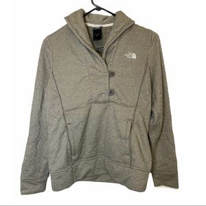 The North Face Crescent Shawl Tan Brown Pullover M